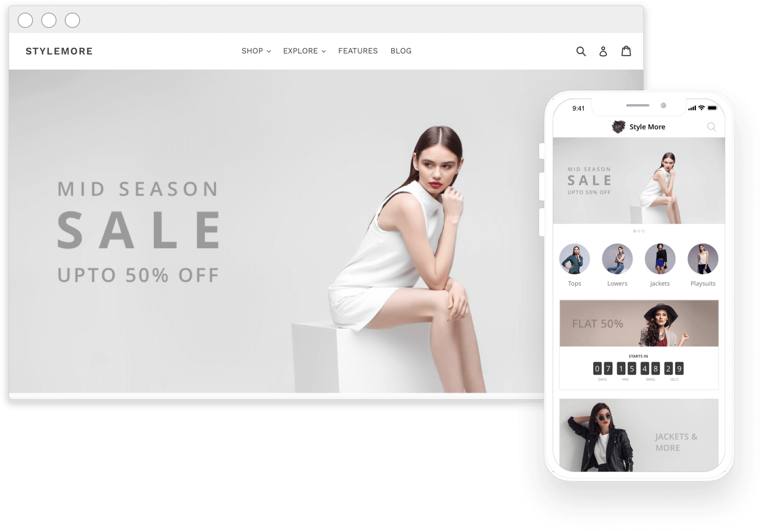 Woocommerce Mobile App for Android & iOS